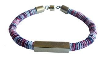 Valentine Cord Bracelet