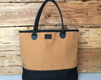 Carhartt and Wax Tote