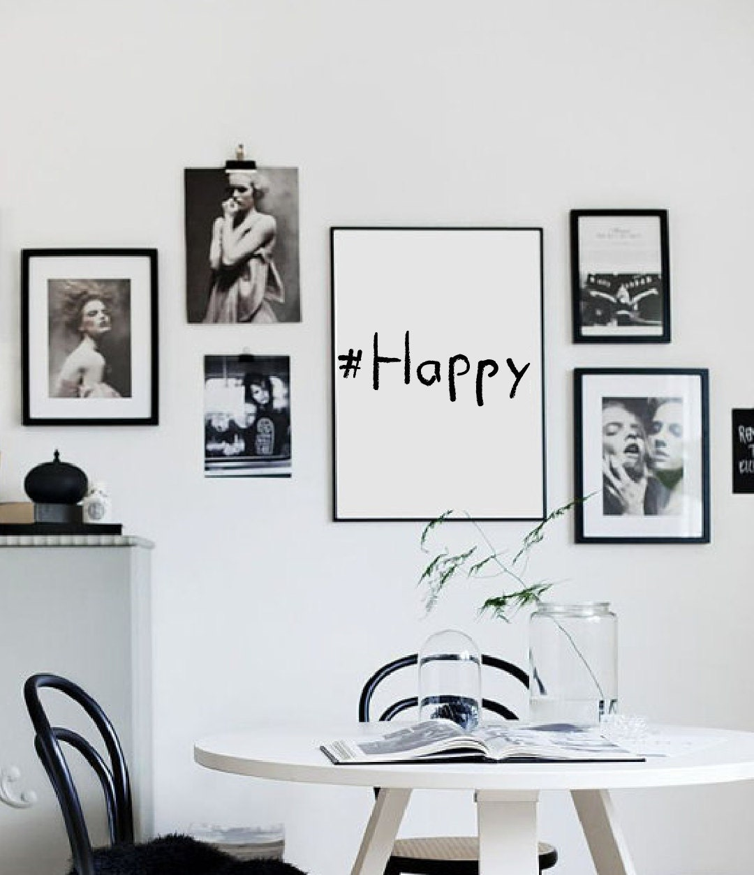 Hashtag happy happy home decor typography for Decor hashtags