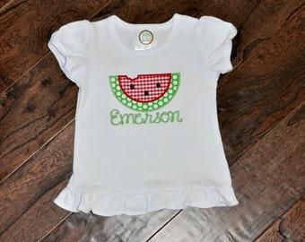 Watermelon Applique shirt
