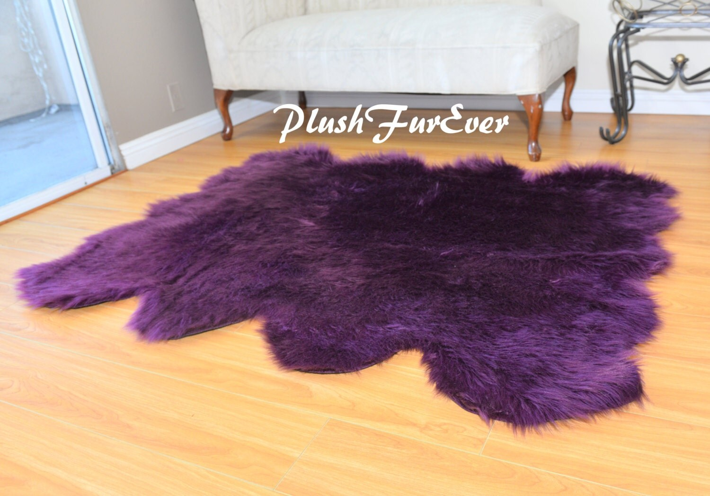 Special 60 X 72 Faux Fur Decor Sheepskin Area Rug Nursery