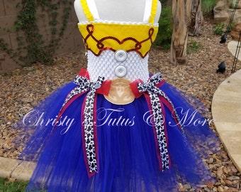 Jesse from Toy Story tutu dress/Cowgirl tutu dress/cowgirl costume/Jesse dress/Toy Story costume