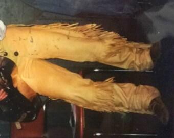 Premium Buckskin Leather Pants