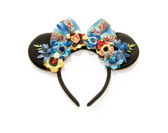 Night Howlers Mouse Ears Headband, Judy Hopps Ears, Nick Wilde Ears, Flower Mouse Ears, Minnie Ears Headband, Mickey Ears Headband