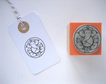 GANESH Rubber stamp. GANESHA Rubber stamp. Ganapati rubber stamp. Vinayaka rubber stamp