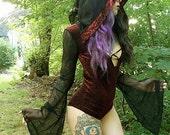 Velvet Slit Bodysuit