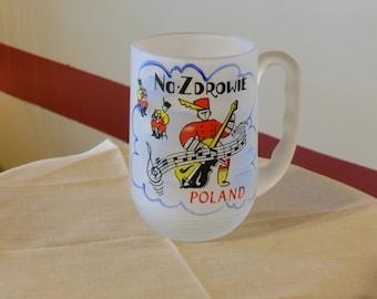 Frosted Mug: Poland