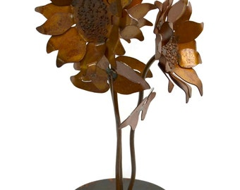 Sunflowers Metal Tabletop Sculpture TSC03