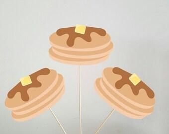 Pancake Centerpieces