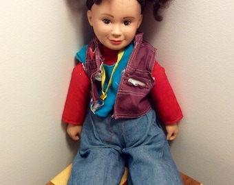 1984 Galoob NBC Punky Brewster Doll, Punky Brewster, 1980's Galoob Dolls, Vintage Punky Brewster Doll, T.V. Show Dolls, 1980's T.V. Shows