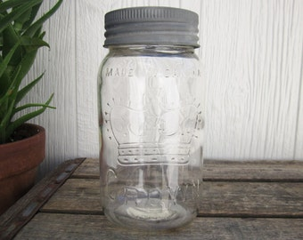 Unique Crown Mason Jar Related Items Etsy