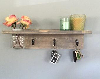 Key rack etsy for Mural key holder