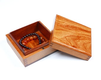 Rosewood Storage Box Bracelet Box Jewelry Chest Wooden Box Storage Supply