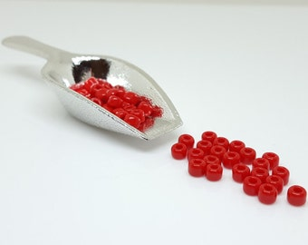 Red Seed Beads - Size 6/0