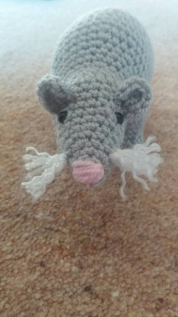 Rat Amigurumi Crochet Pattern