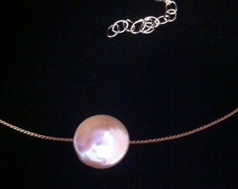 AA Coin Pearl Necklace
