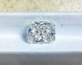 8*10mm Loose Genuine Moissanite Baguette With Radiant Cut