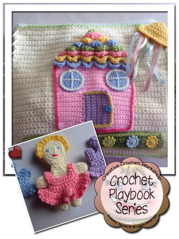 Crochet Quiet Book : ... Download Crochet Pattern - My Dollhouse Playbook Crochet Quiet Book