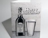 Hoppy Birthday Card
