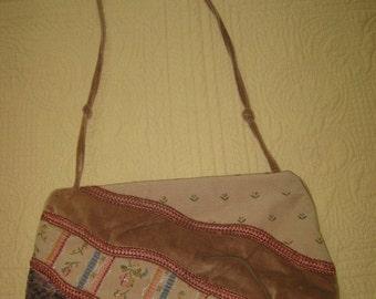 Vintage Carpetbags of America 1970s Purse/Handbag - Boho Fabrics