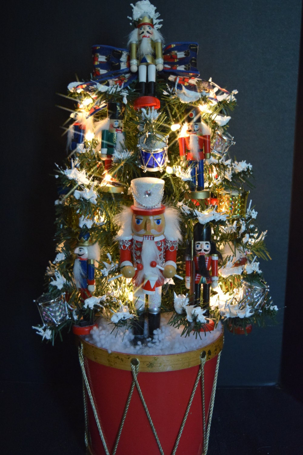 Nutcracker toy soldier themed christmas by tistheseasonstore