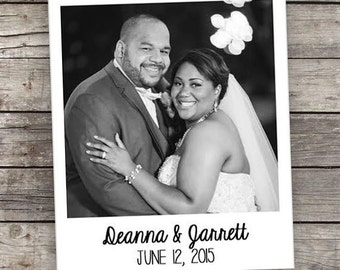 "Custom Photo Magnets - 2"" x 2.25"" Size - Wedding - Save the Dates - Favors"