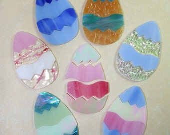 Easter Eggs for Stained Glass / Mosaics