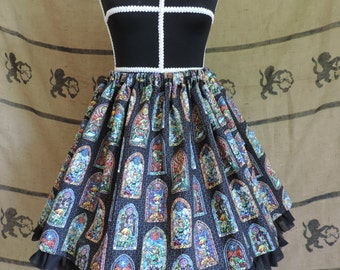 Stained glass skirt Zelda