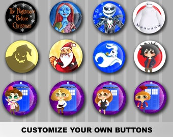 Customize Your Own Buttons - Size 1.25