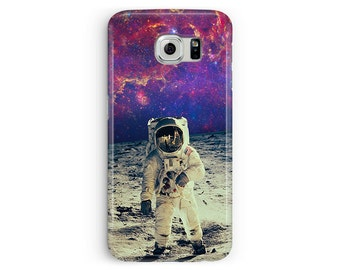 S6 Edge Cover, Spaceman Samsung S6 case, space samsung case, cosmic samsung case, case for samsung galaxy S6, nebula, galaxy, boys S6 case