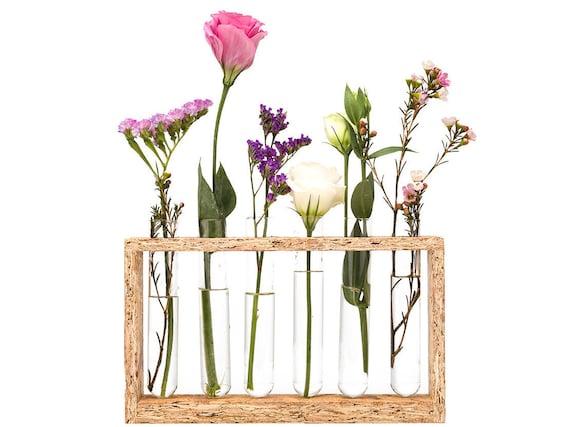 Test tube flower vase home decor vase wedding shower for Test tube vase