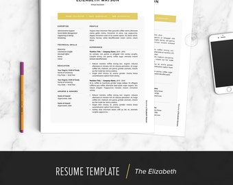 resume template resume design cover letter template word apple pages instant - Apple Pages Resume Template