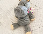 Amigurumi Hippo | Made to Order