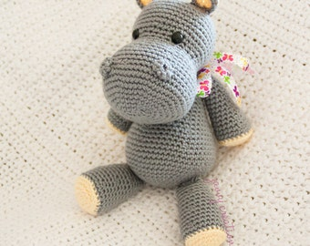 Amigurumi Hippo | Made to Order