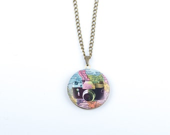 Camera Locket | Photography Locket | Camera Necklace | Photo Locket | Photographer locket |