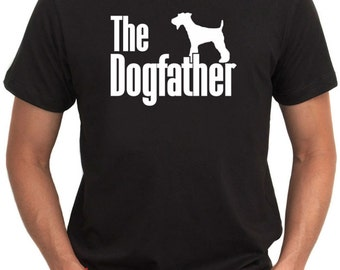 The dogfather Fox Terrier T-Shirt