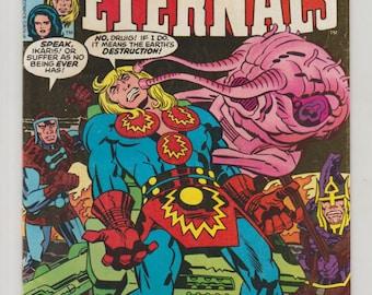 Eternals, Vol 1, 18, Bronze Age Comic Books. FN/VF. December 1977. Marvel Comics
