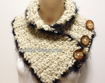 Only One Wool Thick Soft Not Itchy Neckwarmer Scarf