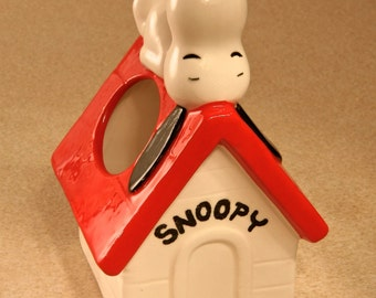 SNOOPY Desk Accessory/Candle Holder