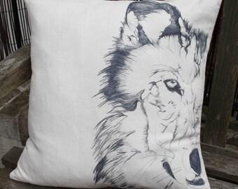 Wolf Cushion