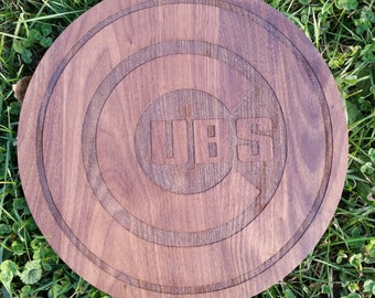 Chicago Cubs Cutting Board / Serving Tray.