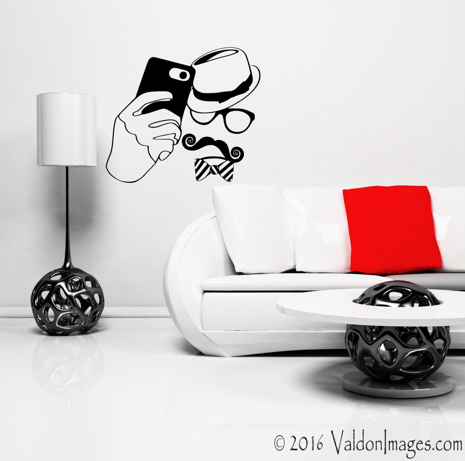 Hipster selfie wall decal wall stickers hipster wall decal zoom amipublicfo Choice Image