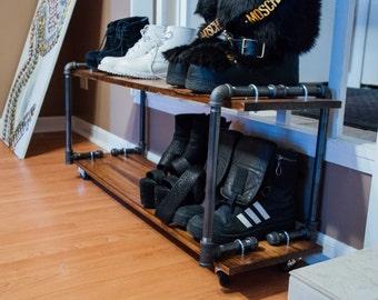 Industrial shoe rack/shelf
