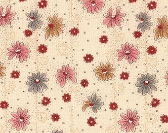 Lecien Annemie 30965, Japanese cotton fabric, half yard