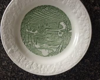 """Plates (2) Taylor Smith Taylor Pastoral 6.5"""""""