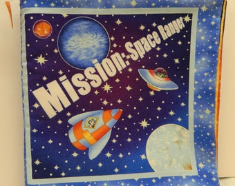 Mission trip etsy for Space mission fabric