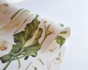 Double Sided Decoupage Paper. Double Face Decoupage Paper. Flowers Paper. DE01