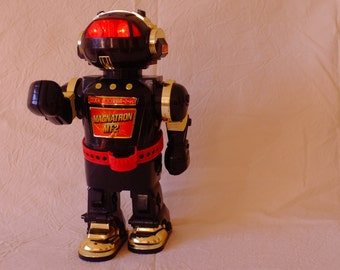 Robot, science fiction year 80, the war of the stars, robot collectoe, Christmas present