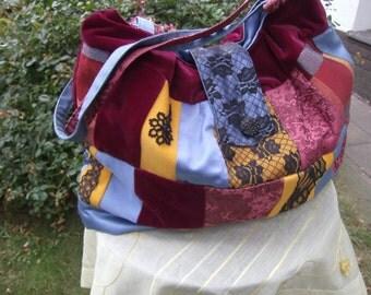 big Purse - Patchworkbag  -  handmade Bag  -  Boho Bag  -  Gift for her,