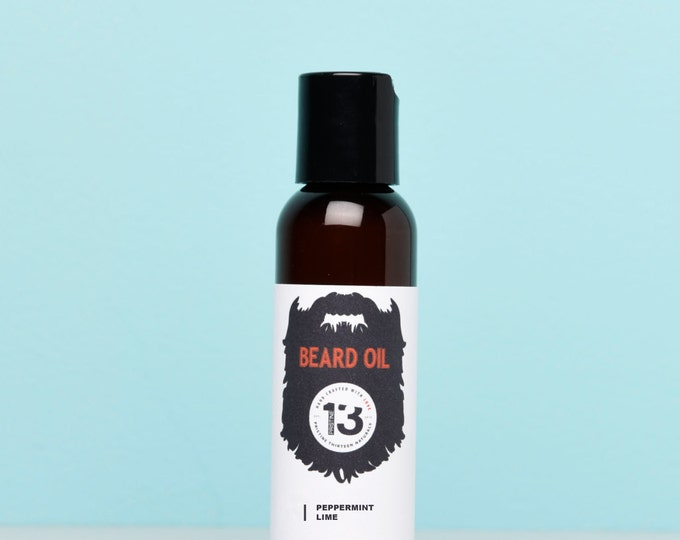 Peppermint and Lime Beard Conditioning Oil